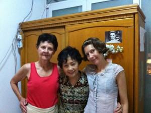 My mother, my landlady, and I